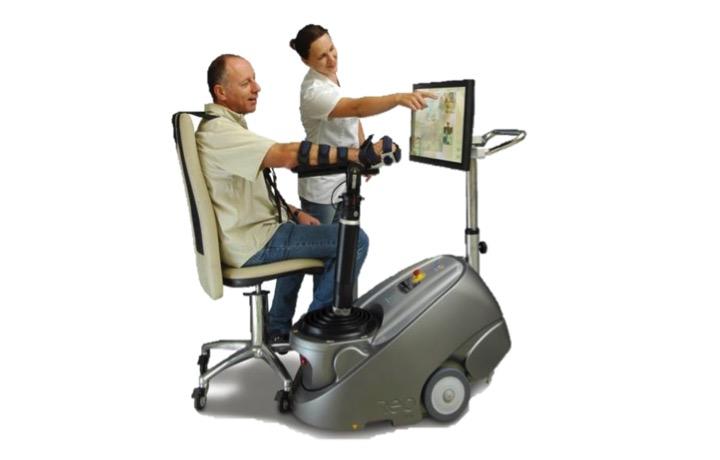 rehabiltacja robotyczna neurologiczna i ortopedyczna Origin - robot ReoGo