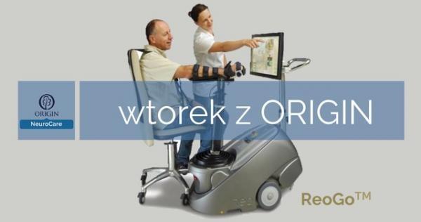 Najnowsza wersja robota ReoGO - Skuteczna rehabilitacja ręki w Centrum ORIGIN Otwock