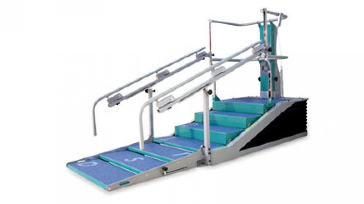 Automatyczne schody terapeutyczne w rehabilitacji po urazach i w schorzeniach neurologicznych